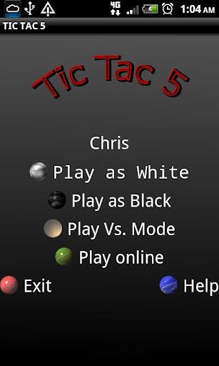 Tic Tac 5 Free