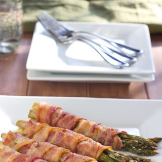 Bacon Wrapped Asparagus.