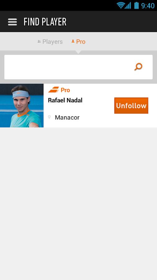 Babolat Play - screenshot