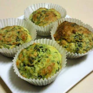 Spinach and Cheese Muffins.