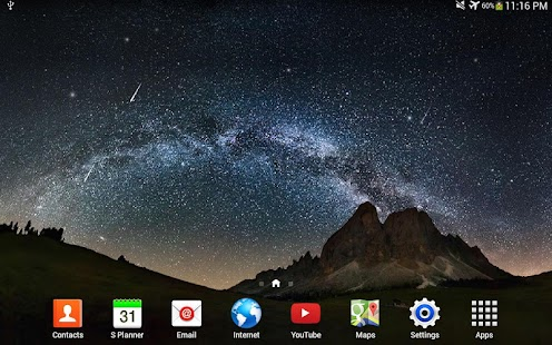 Star Night Live Wallpaper - screenshot thumbnail