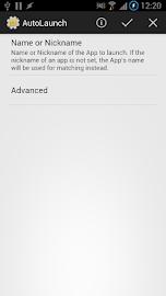 AutoLaunch Screenshot 2