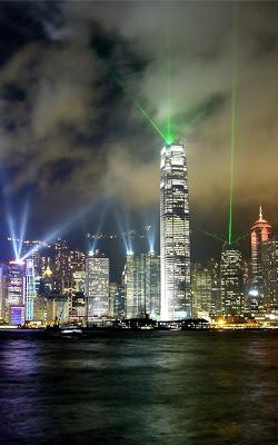 Hong Kong Night Live Wallpaper - screenshot