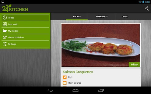 24Kitchen Recipe of the Day- screenshot thumbnail