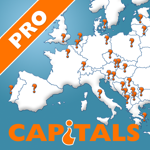 Countries Capitals Quiz PRO LOGO-APP點子