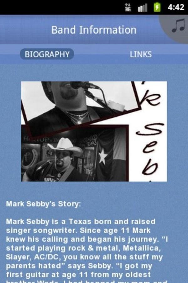 Mark Sebby - screenshot