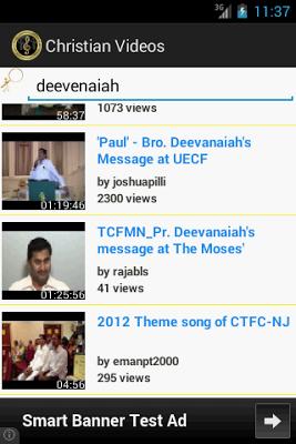 Christian Video Songs - screenshot