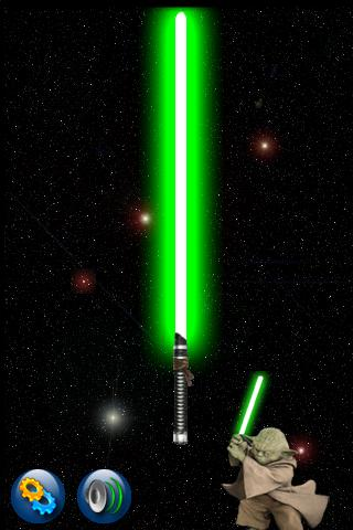 Android LightSaber 2.0 BETA - screenshot