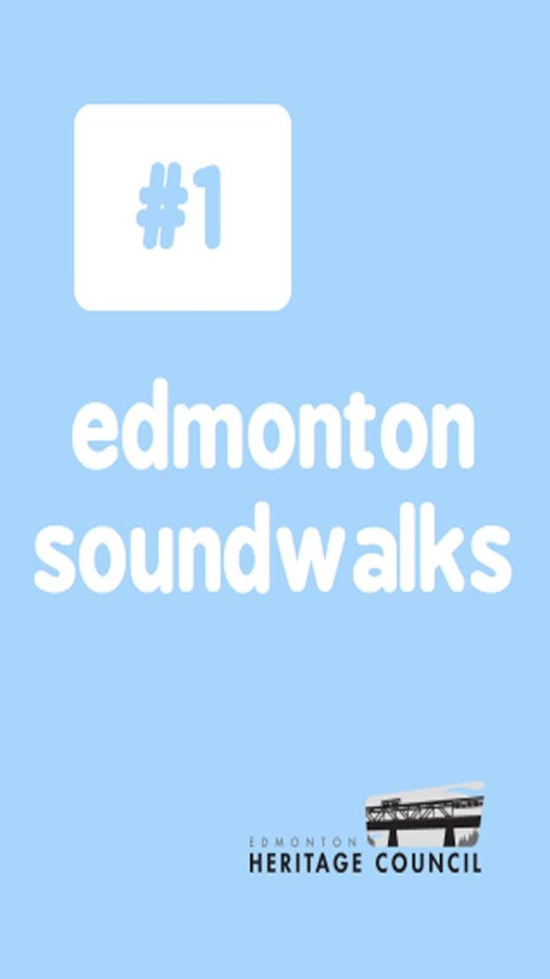 Edmonton Soundwalks- screenshot