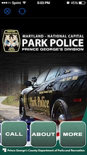 MD-Nat'l Capital Park Police - náhled