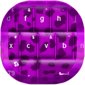 Purple Cheetah Keyboard