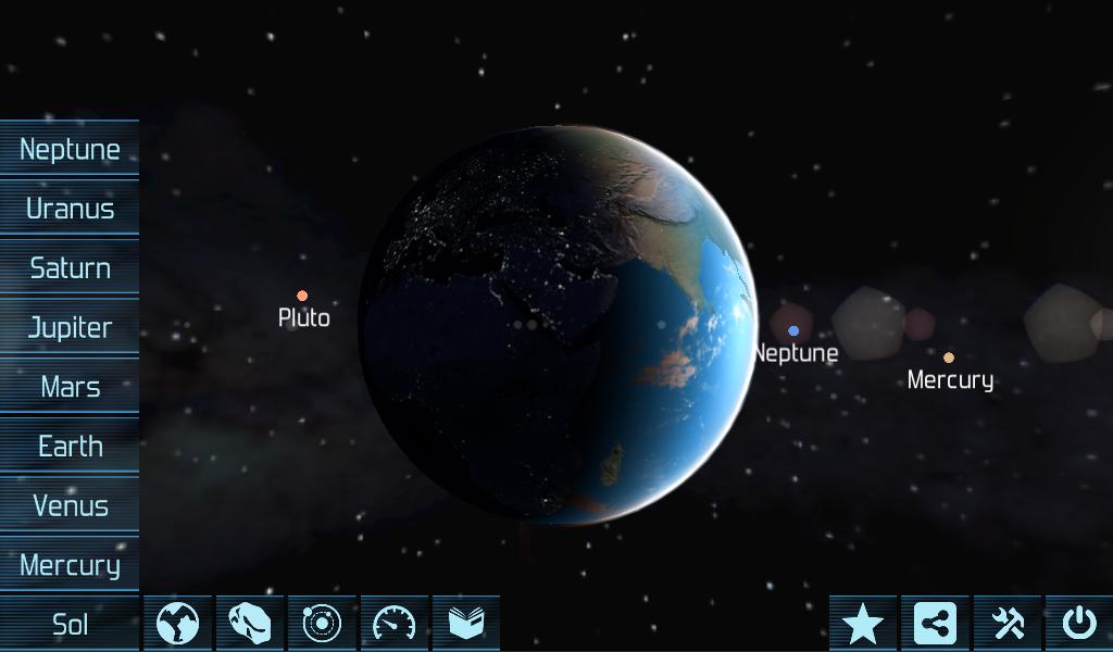 Solar System Explorer D Revenue Download Estimates Google - Solar system map 3d