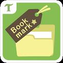 ブックマークフォルダ icon