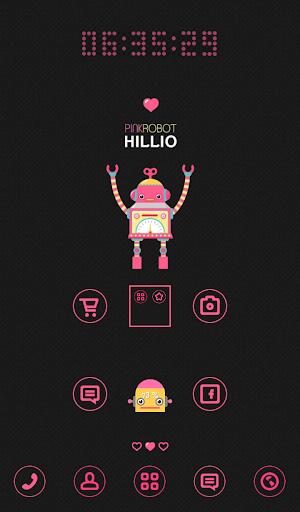 핑크로봇 할리오 도돌런처 테마