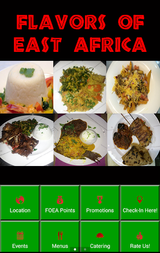 Flavors of East Africa
