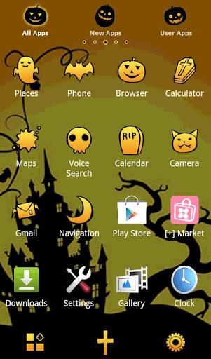 Halloween Theme Spooky Night 1.0 Windows u7528 2