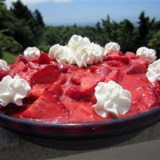Sweet Lady Dane Strawberry Pie