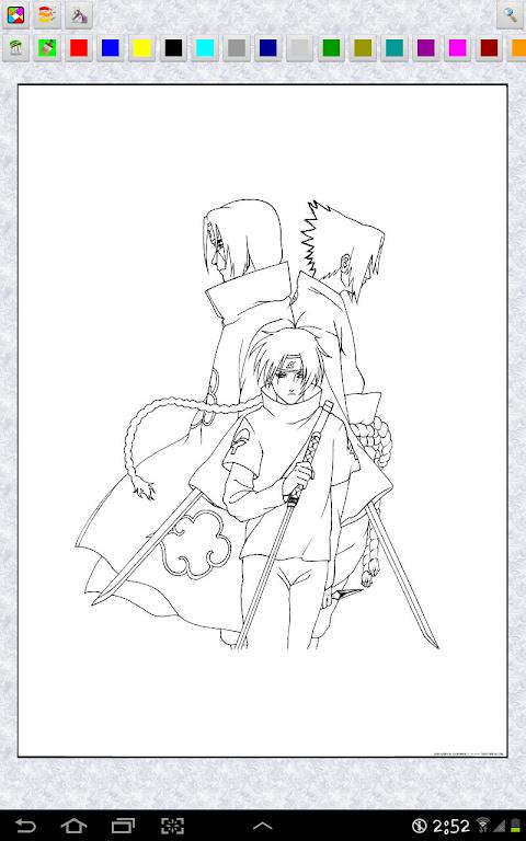 Naruto ナルト のぬりえの画像集 Androidアプリ Applion