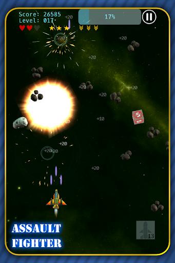 Assault Fighter vs Invaders