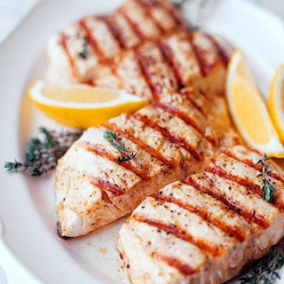 Grilled Striped Bass.