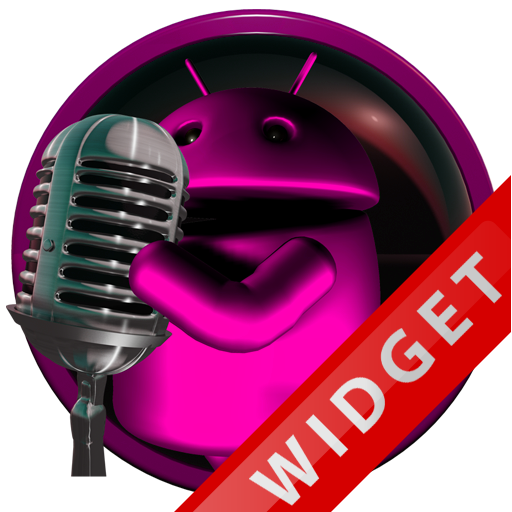 Poweramp Widget Pink Droid 5