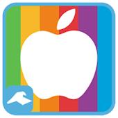 카카오톡 테마 - 사과(Apple)테마