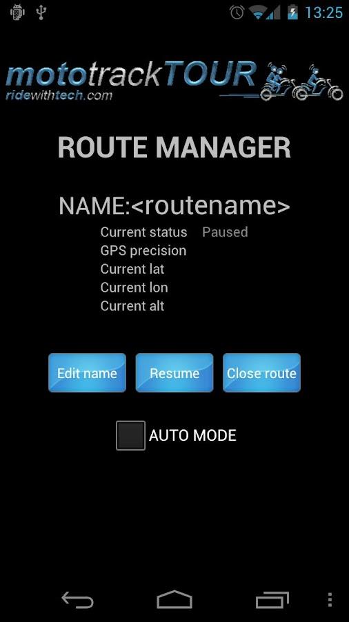 mototrackTOUR- screenshot