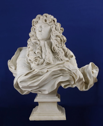 Bust of Louis XIV, king of France and Navarre