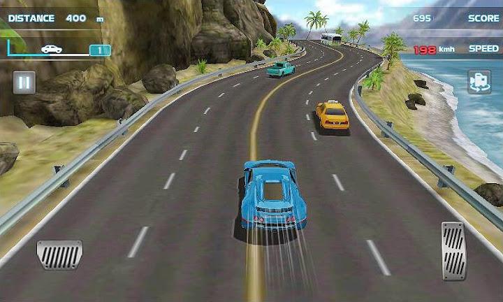 Turbo Driving Racing 3D Android App Screenshot
