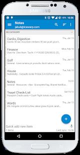 Tasks & Notes for MS Exchange - screenshot thumbnail