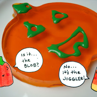 Halloween Jell-O Jigglers