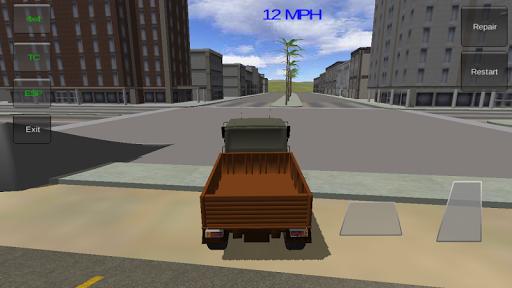 4×4越野軍用卡車