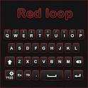 GO Keyboard Redloop theme icon