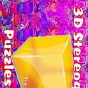 3D Stereogram Puzzles-Pro logo
