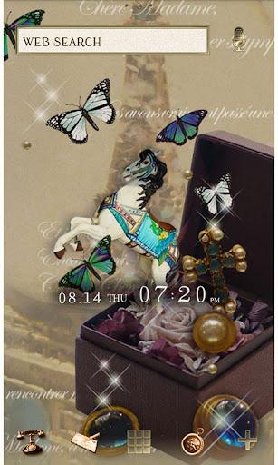 Butterflies Theme-Antique Box- 1.0 Windows u7528 1