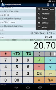 Office Calculator Pro- screenshot thumbnail