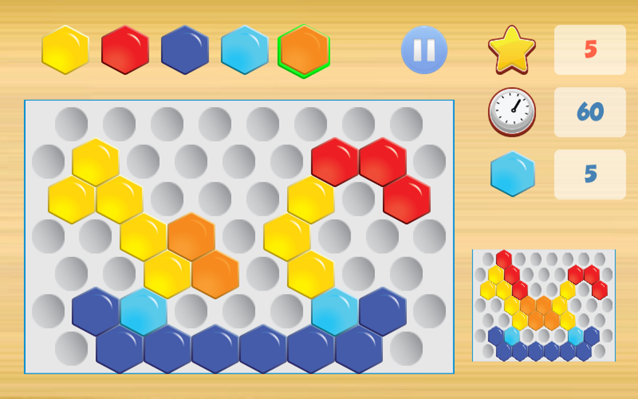 Hexagon Puzzle Game- screenshot