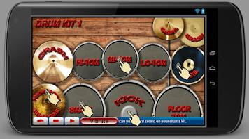 Screenshot of Drum Kit Free