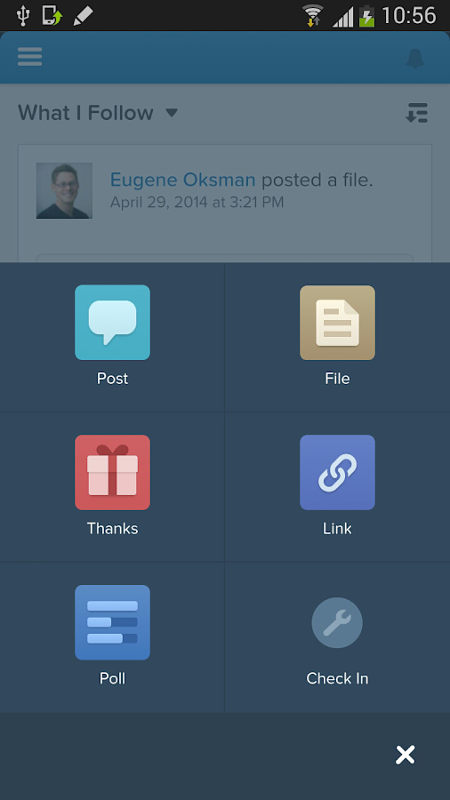 Good for Salesforce1- screenshot