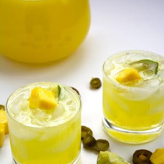 {Skinny} Jalapeño Pineapple Margaritas