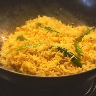 Fodni Bhaat (Indian Fried Rice).