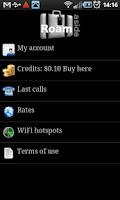 Screenshot of kill roaming with Roamaside