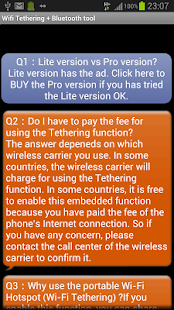 WiFi HotSpot / WiFi Tether - screenshot thumbnail
