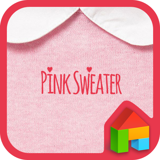 Pink Sweater dodol theme 個人化 App LOGO-APP試玩