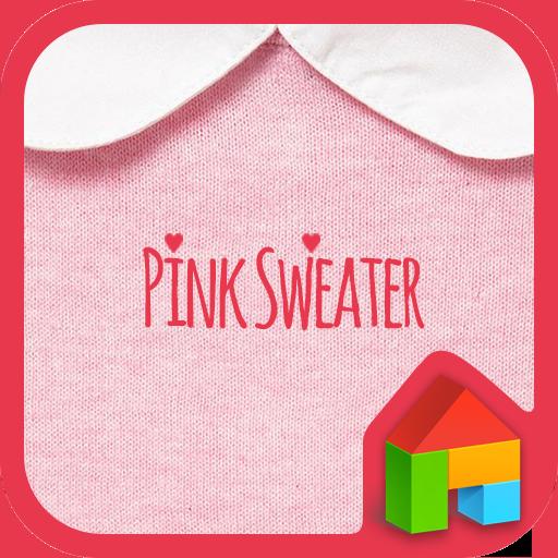 Pink Sweater dodol theme 個人化 App LOGO-APP試玩