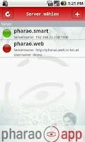 Screenshot of pharao.app