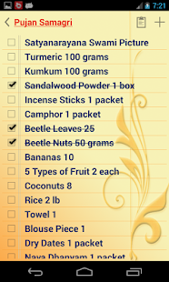 PUJA-VIDHI Checklist - Apps on Google Play