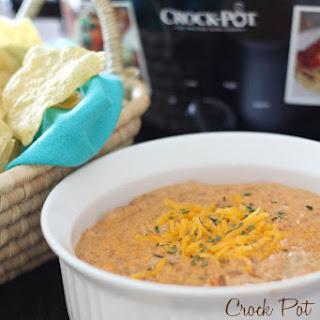 Crock Pot Hamburger Dip.