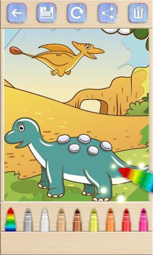 娛樂必備免費app推薦|涂料和色彩的恐龙游戏線上免付費app下載|3C達人阿輝的APP