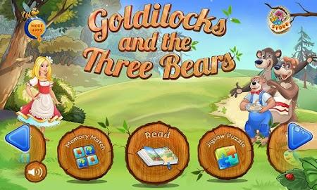 Goldilocks & Three Bears Book Screenshot 1